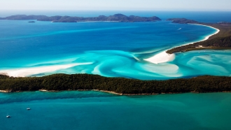 Airlie Beach, Whitsundays Catamaran Cruise & Sydney