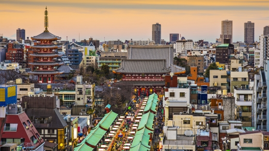 Japan's Dynamic Cities