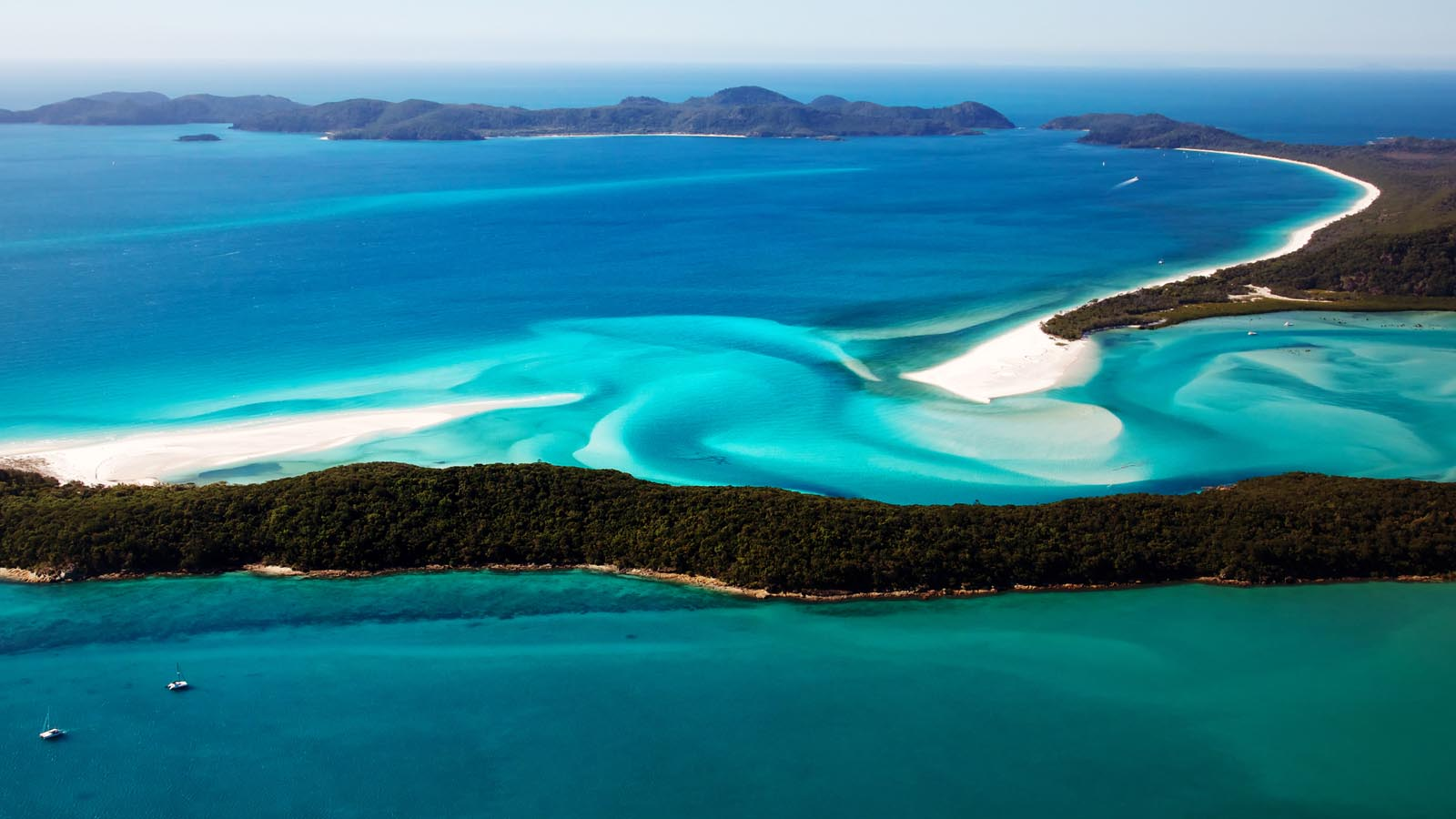 Airlie Beach, Whitsundays Catamaran Cruise & Sydney