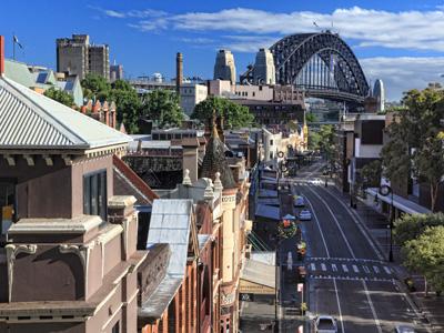 Sydney Departure