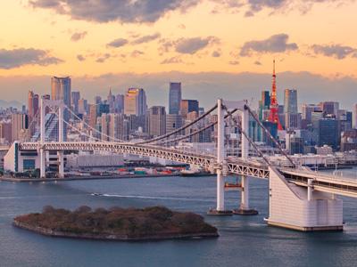 Depart Tokyo
