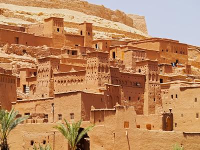 Skoura - Ouarzazate - Ait Ben Haddou - Marrakesh