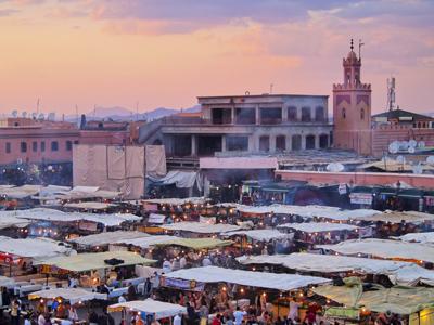 Marrakesh Arrival