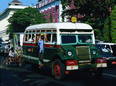 Yangon Arrival