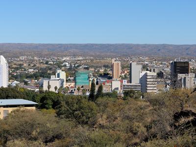 Windhoek Arrival