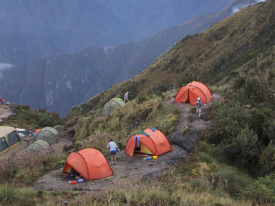 Sacred Valley Camping