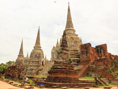 Kanchanaburi - Ayutthaya