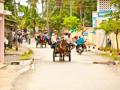 Ho Chi Minh City - Ben Tre - Cho Lach