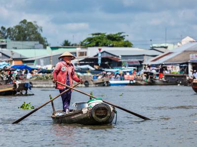 Can Tho - Ben Tre - Ho Chi Minh City