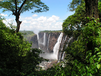 Livingstone Arrival - Mosi-Oa-Tunya National Park