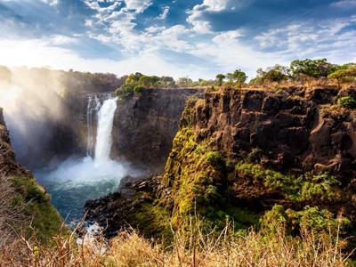 Victoria Falls Arrival
